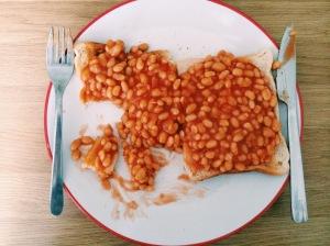 Beans on toast.